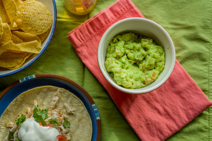 Made-from-scratch guacamole