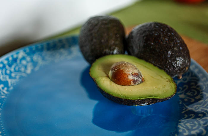 cut avocados