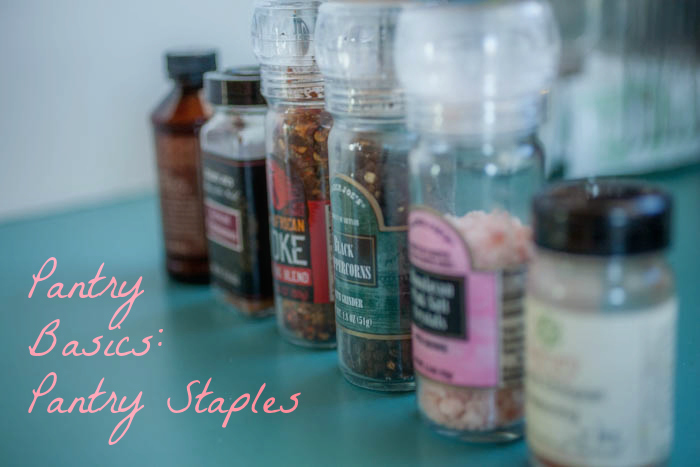 Learn about pantry staples!