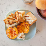 Summer Dessert Series Part 2: Grilled Peaches and Angel Food Cake