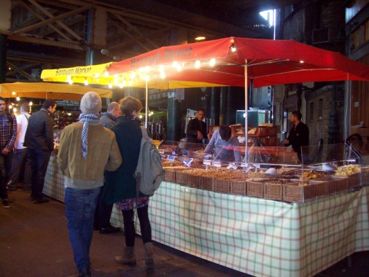 Borough Market's offerings