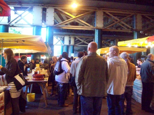 Open market in London