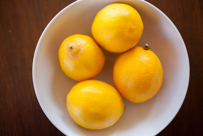 Meyer lemon citrus