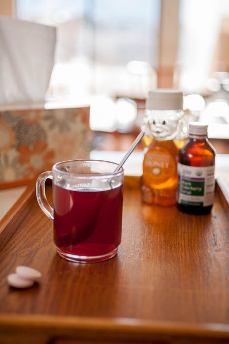 elderberry tea is a delicious, warming immune booster!