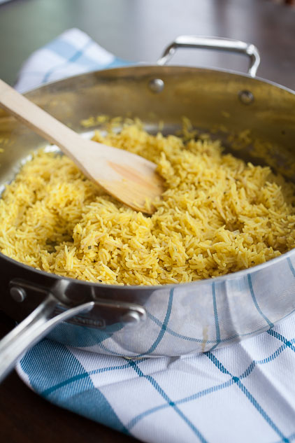 Make this healthy Rice-A-Roni copycat, AKA rice pilaf, at home!