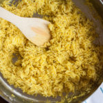 This delicious, fragrant rice pilaf is a healthy copycat recipe for Rice-A-Roni!