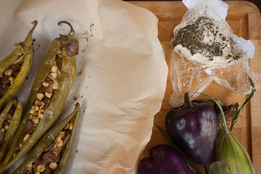 Get a taste of New Mexico with this delicious recipe for fajita-stuffed Hatch green chile!