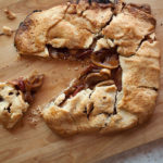 Warm Calvados Apple Galette