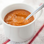 Sweet, slow-roasted tomatoes combine with only a handful of other ingredients for this warming, homemade creamy tomato soup. In about an hour, you'll have an amazingly delicious, warming soup to combat the cold!