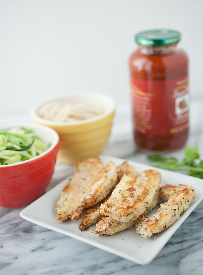 These gluten-free Italian chicken fingers make the perfect weeknight meal—healthy, quick, easy, delicious, and done in under an hour!