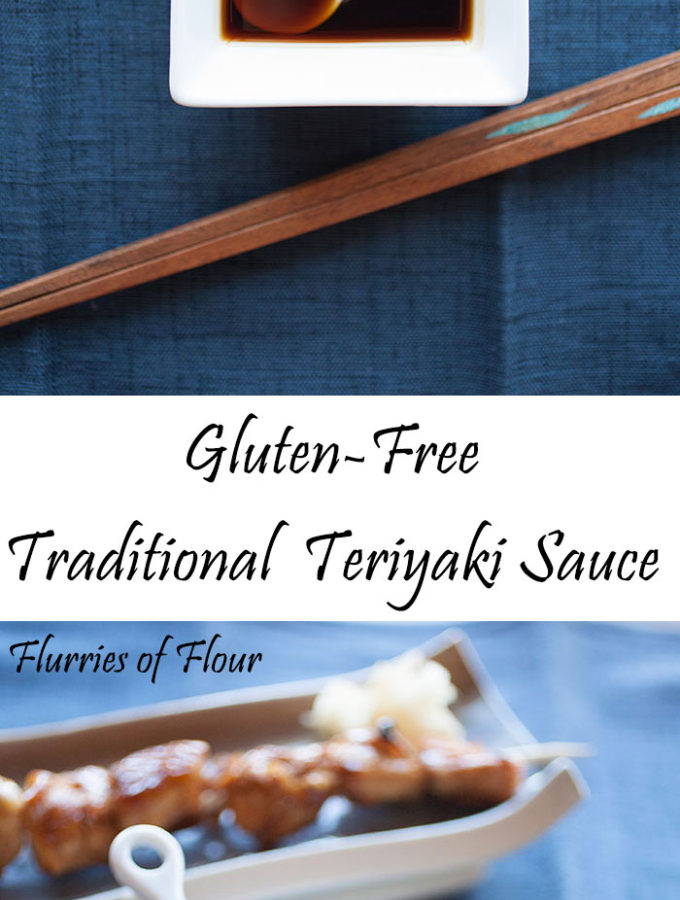 This gluten-free but traditional recipe for teriyaki sauce uses only four ingredients but produces a rich, deeply flavorful sauce full of both bright and salty notes. It's really unlike anything you've tried from a bottle!