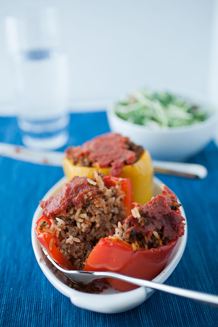 Do-it-yourself stuffed peppers: they're quick, easy, delicious, healthy and you can customize them to your heart's content using this handy guide!